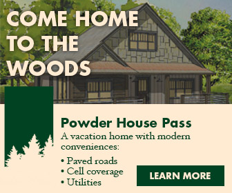 Model home display ad.